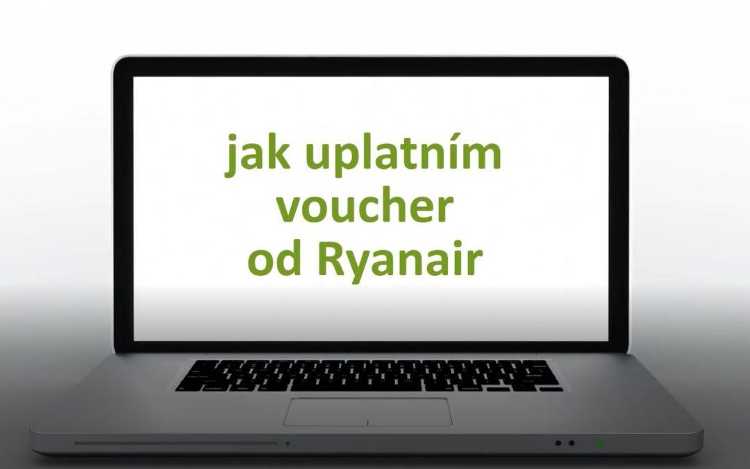Jak uplatnit voucher od Ryanair